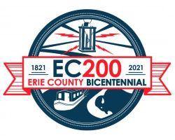 Erie County, New York - Bicentennial Logo (1821-2021)