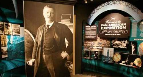 Exhibit at the Theodore Roosevelt Inaugural Site