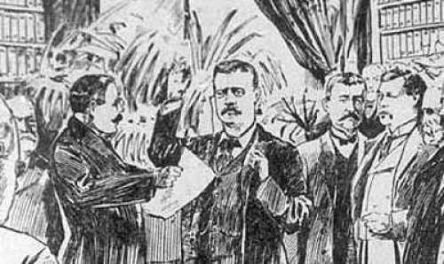 teddy roosevelt inauguration